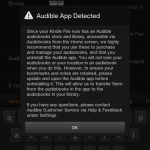 Audible and Canadian Kindle Fires – Progress!